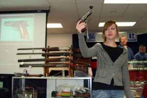 A firearms auction from Mayo Auction & Realty, Kansas City, Mo., on April 17.