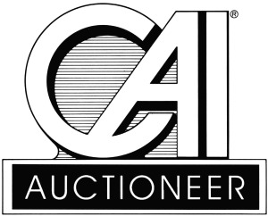 CAI Auctioneer educational designation